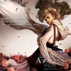Four Corners of Air Awakens by Elise Kova – THIS SATURDAY