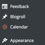 CoSchedule WordPress menu