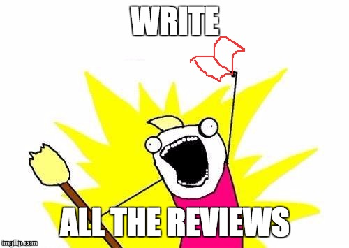 write all the reviews