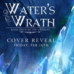 Cover Reveal: Water's Wrath by Elise Kova