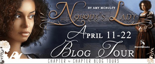 #GuestPost: Nobody's Lady by Amy McNulty