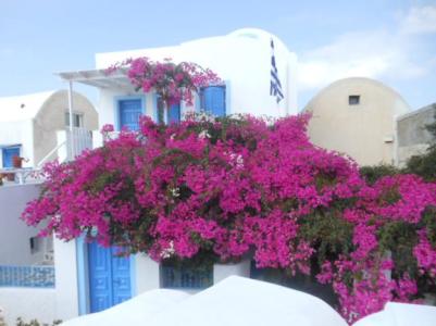 Julia Ember travel photos - Santorini building 2