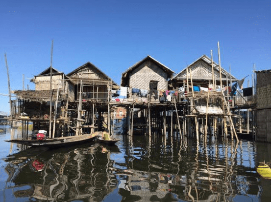Julia Ember travel photos - stilt city