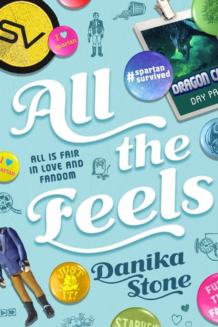 #GuestPost: Top 5 Fandoms of Danika Stone, author of ALL THE FEELS