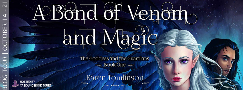 #Excerpt: A BOND OF VENOM AND MAGIC by Karen Tomlinson