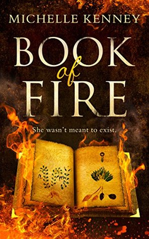 #BookReview: BOOK OF FIRE by Michelle Kenney