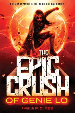 #BookReview: THE EPIC CRUSH OF GENIE LO by F.C. Yee