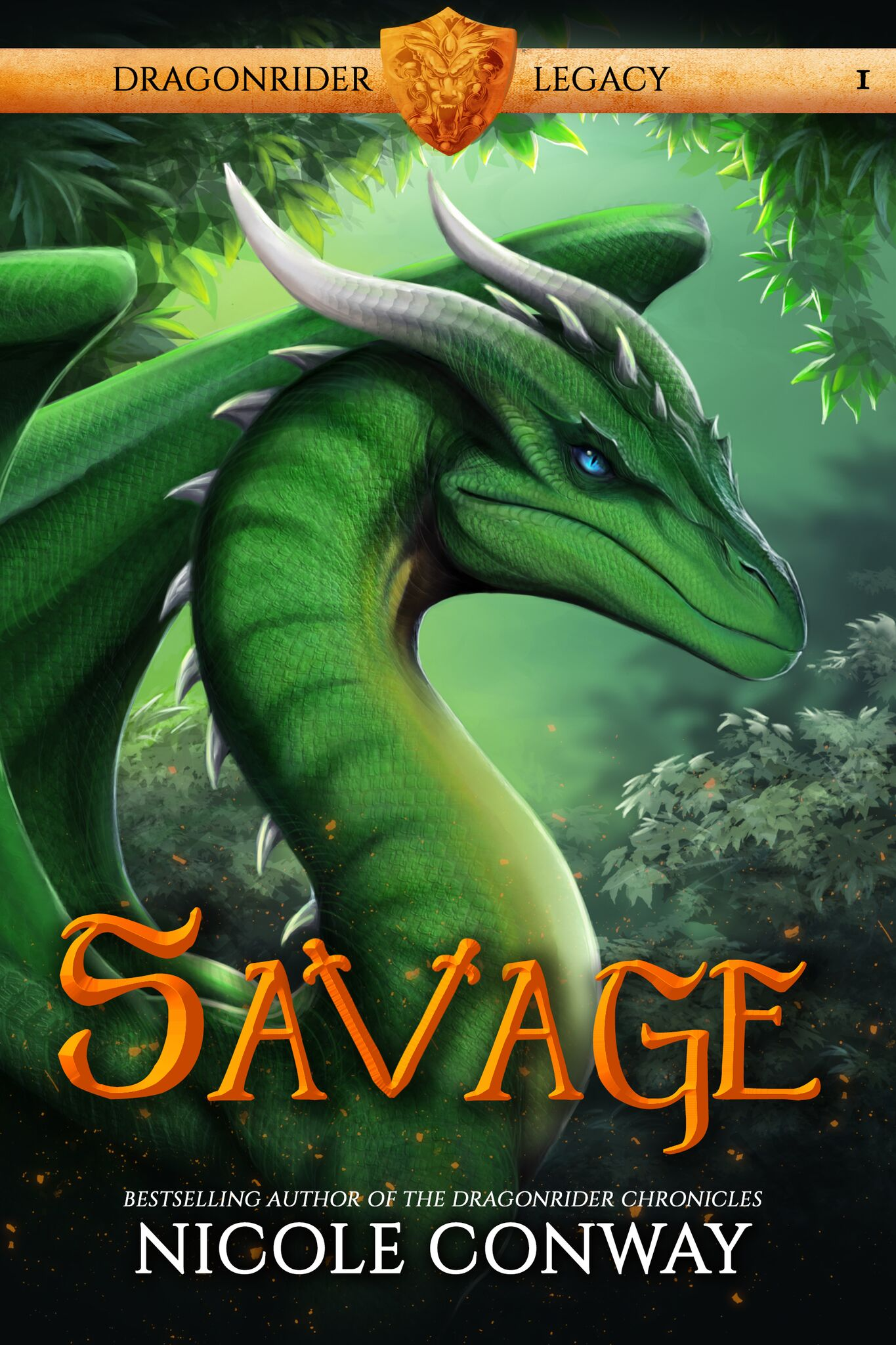 #CoverReveal: SAVAGE by Nicole Conway