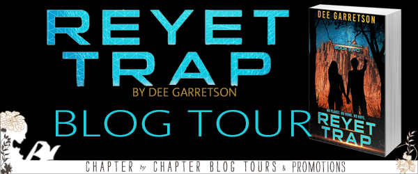 #GuestPost: Dee Garretson on the world-building of REYET TRAP