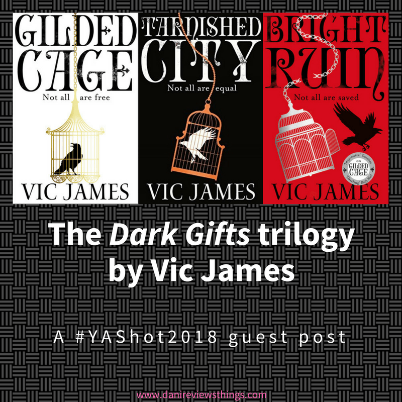 #YAShot2018 #GuestPost: Vic James on the societies that inspired her Dark Gifts trilogy