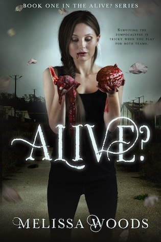 Happy #BookBirthday with an #Excerpt + #Giveaway: ALIVE? by Melissa Woods