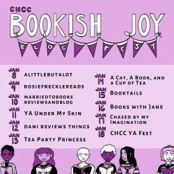 #CHCCYAFest #BookishJoy Blog Fest: To my (fictional) best friends