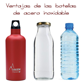 Beber en botellas de plástico es malo