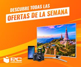 Ofertas ordenadores portátiles y televisores PCComponentes