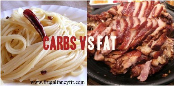 carbos versus grasas