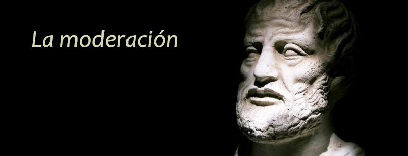 Aristoteles mesotés moderación en la alimentación