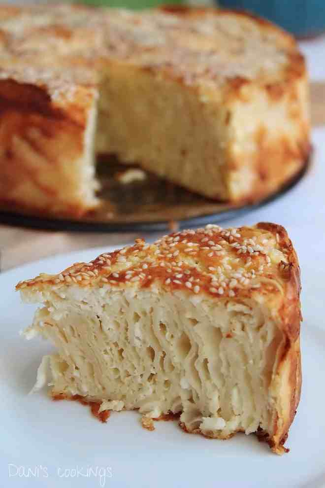 sesame filo pie with white cheese - daniscookings.wordpress.com