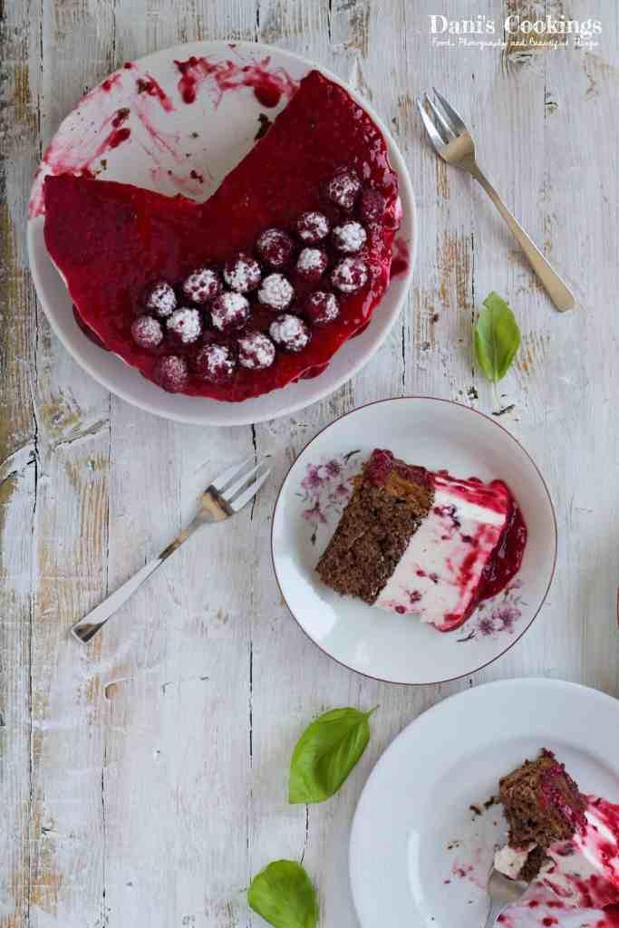 Wonderfully delicious Raspberry Cheesecake Cake | Dani's Cookings