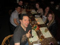 Group party at Mi Casa Costa Mesa celebrating Cinco De Mayo in 2012 & our good buddy's Bday