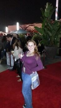 Oh yeah!! Walking the Red Carpet!