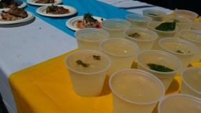 Sandy's Beach Grill - Fresh Basil Lemonade