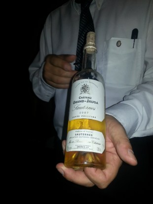 Dessert Wine - Chateau Grand-Jauga Sauternes 2007