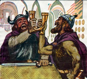 Vikings drinking