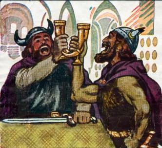 Vikings drinking