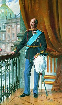 King Frederick VIII of Denmark
