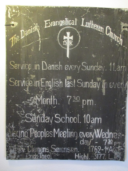Dickson Church Sign