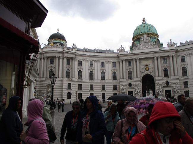 Hapsburg palace exterior