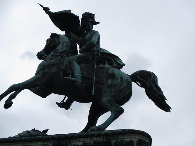 A Franz Josef statue