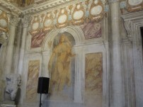 Fresco in the lobby area of the Teatro Olimpico, Vicenza