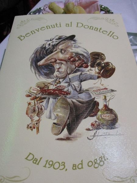 Ristorante Donatello - Really good food.