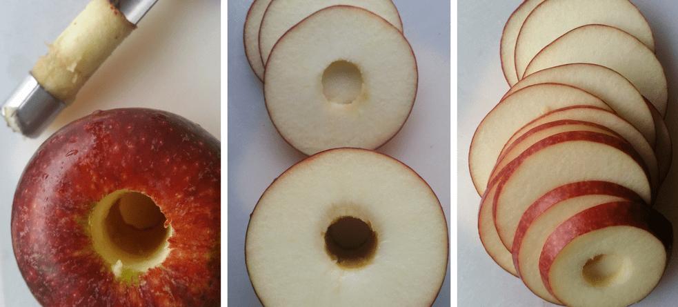 Ingrid Marie æble i skiver