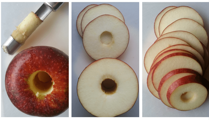 Ingrid Marie apples - slices for chips