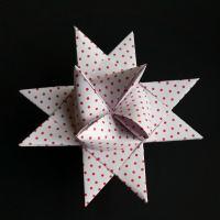 Flet en julestjerne - trin for trin