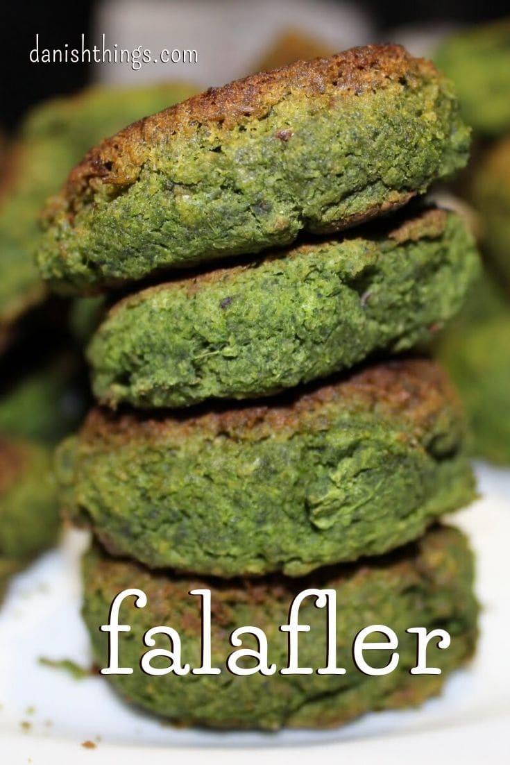 Grønne falafler – falafler med spinat -  find opskrifter og inspiration på danishthings.com © Christel Danish Things
