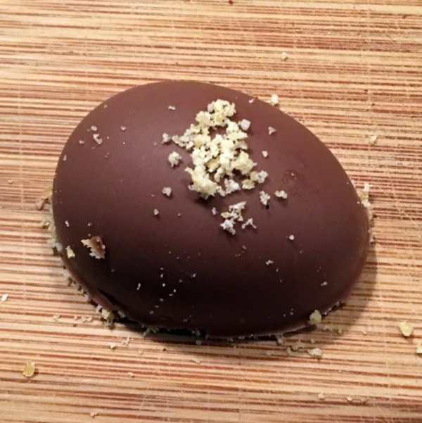 Chokoladeskaller med mousse