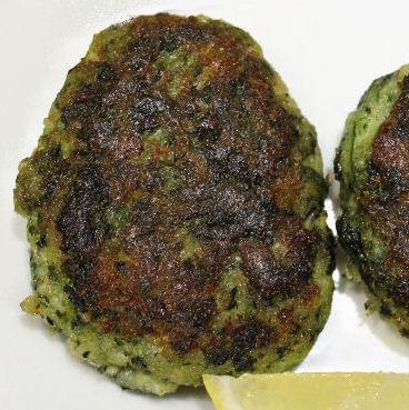 Grønne fiskefrikadeller - Spinatfiskefrikadeller