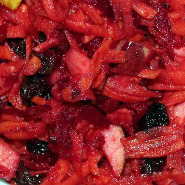 Rød råkostsalat