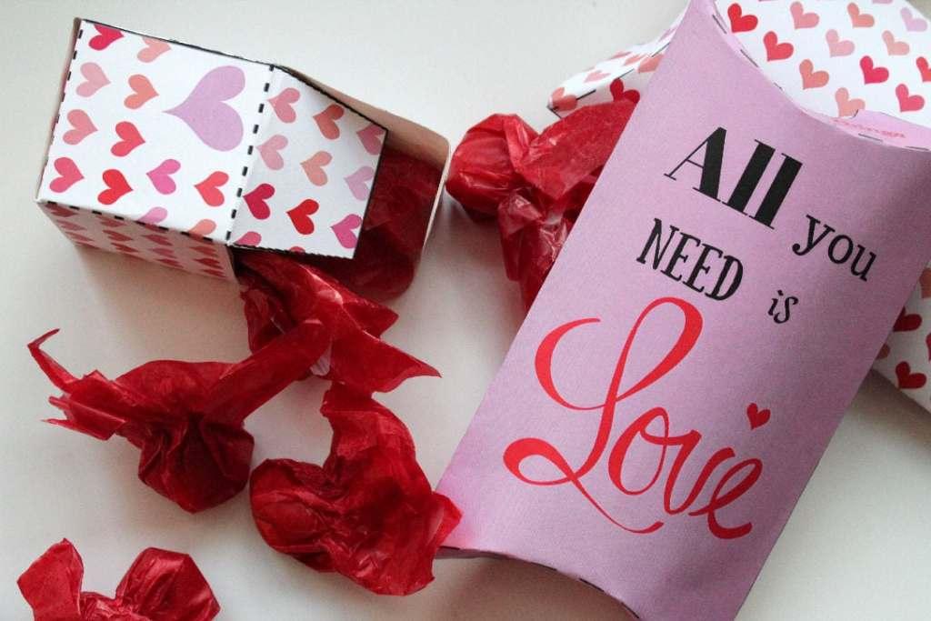 Valentine kærlighed gaveæsker Gaveæsker til bryllup - love giftbox danish things @ danishthings.com