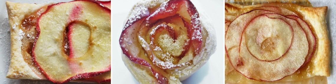 Disse sprøde æbletærter er lækre og utroligt hurtige at lave. Nemt, hvis du lige får gæster til en kop kaffe. Lav en sprød æbletærte med marcipan, med abrikos, eller en kombination af begge. Du kan også lave fine æbleroser - alle varianter er lækre. Find opskrifter, gratis print og inspiration til årets gang på danishthings.com