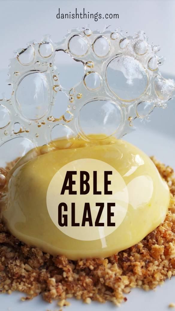 Nem æbleglaze med husblas og glukosesirup - helt uden kondenseret mælk og mirror/miroir glaze. Den nemmeste glaze til kager og desserter. Få tips til succes med glaze, find opskrifter, gratis download, print og inspiration til årets gang på danishthings.com
