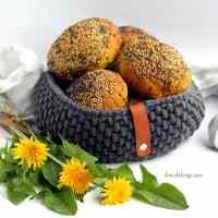 Mælkebøtteboller - gule boller med mælkebøtter