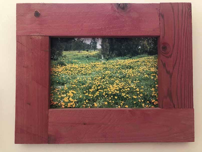 """תמונה עם מסגרת עץ מק""""ט: 1540"""