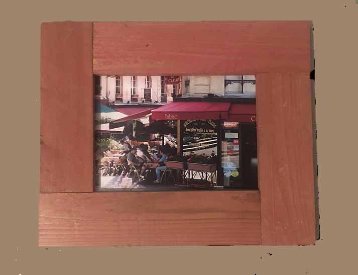 """תמונה עם מסגרת עץ מק""""ט: 1527"""