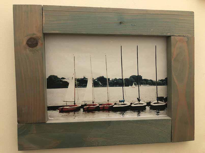 """תמונה עם מסגרת עץ מק""""ט: 1537"""
