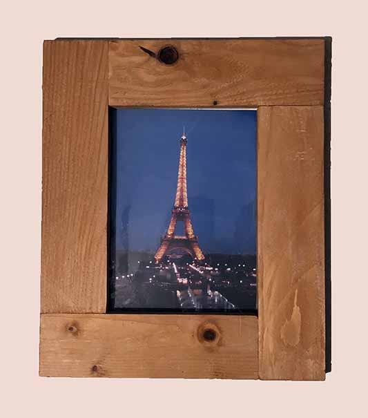 """תמונה עם מסגרת עץ מק""""ט: 1515"""