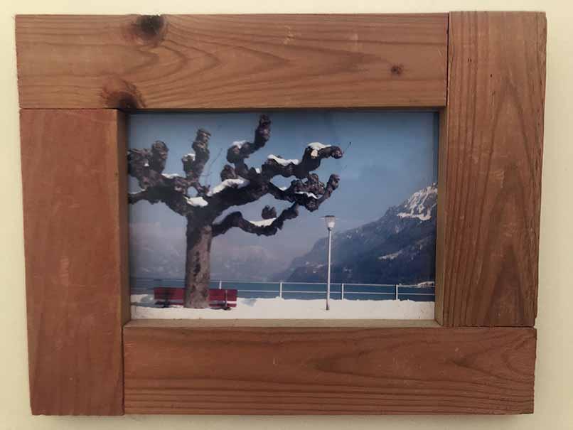 """תמונה עם מסגרת עץ מק""""ט: 1539"""